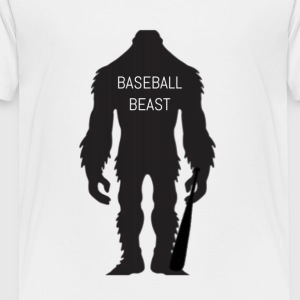 Baseball Beast - Toddler Premium T-Shirt