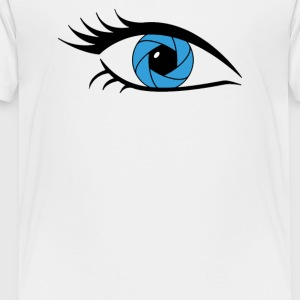 CAMERA SHUTTER EYE - Toddler Premium T-Shirt