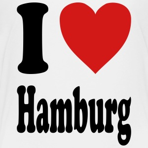 I love Hamburg (variable colors!) - Toddler Premium T-Shirt