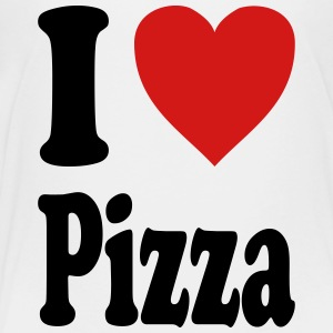 I love Pizza (variable colors!) - Toddler Premium T-Shirt