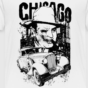 Chicago-gangster-Al Capone-cool-machine - Toddler Premium T-Shirt