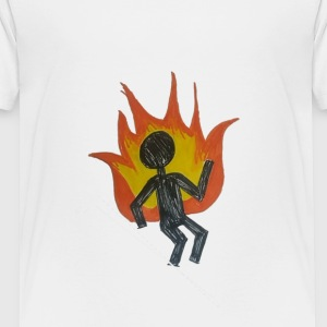 REEF BURNING MAN - Toddler Premium T-Shirt