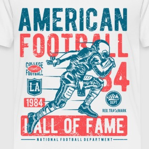 American Football Retro Vintage Distressed Design - Toddler Premium T-Shirt