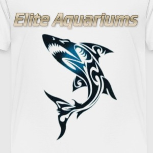 Maori Shark, with Elite Aquariums slogan - Toddler Premium T-Shirt