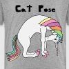 Yoga Unicorn Cat Pose - Toddler Premium T-Shirt