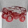 Mega Mud Ford Bronco Red - Toddler Premium T-Shirt