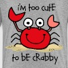 Too Cute Crab - Toddler Premium T-Shirt