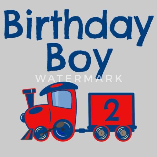 Birthday Boy Train 2 By J2designs
