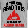 If you can read this you are in my aggro range - Toddler Premium T-Shirt