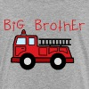 Big Brother Fire Truck - Toddler Premium T-Shirt