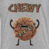 Funny Nerd Humor - Chewy Chocolate Cookie Wookiee - Toddler Premium T-Shirt