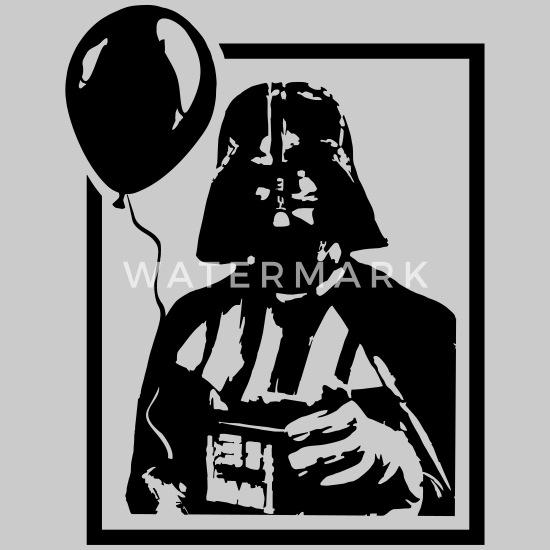 Vader Balloon Toddler Premium T-Shirt | Spreadshirt