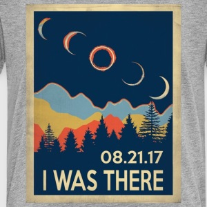 Vintage I was there Solar Eclipse 2017 - Toddler Premium T-Shirt