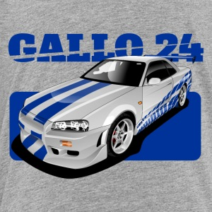 O Connor ride Nissan GTR R34 - Toddler Premium T-Shirt