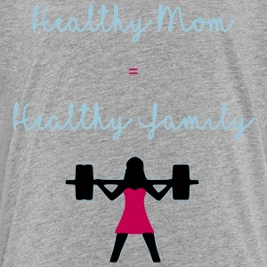 healthy mom - Toddler Premium T-Shirt
