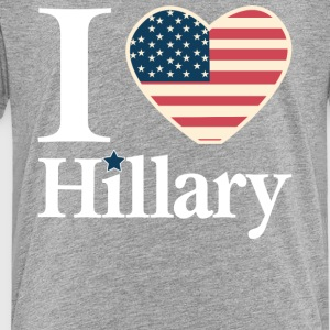 i_love_hillary - Toddler Premium T-Shirt