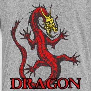 open_hand_dragon_red - Toddler Premium T-Shirt