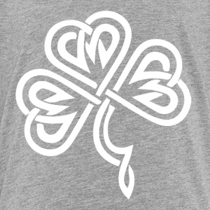 Celtic Shamrock White - Toddler Premium T-Shirt