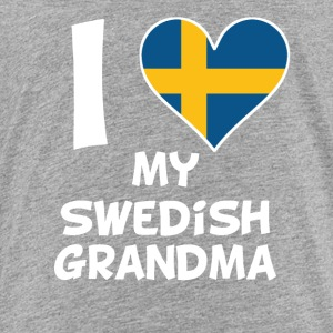 I Heart My Swedish Grandma - Toddler Premium T-Shirt