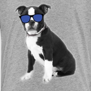 Cool Boston Terrier Dog Tee Shirt - Toddler Premium T-Shirt