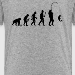 Evolution Of Man and Fishing - Toddler Premium T-Shirt
