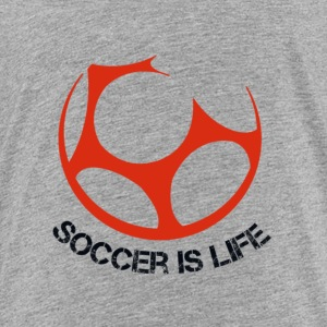 Soccer Is Life Logo - Toddler Premium T-Shirt