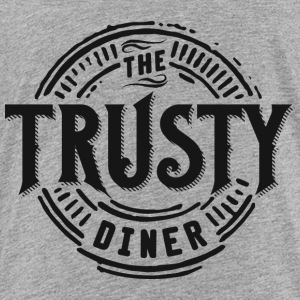 TheTrustyDiner black - Toddler Premium T-Shirt