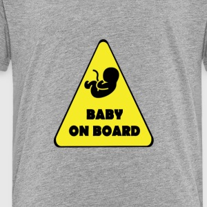 BABY_ON_BOARD - Toddler Premium T-Shirt