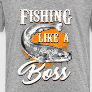 Fishing like a BOSS - Toddler Premium T-Shirt