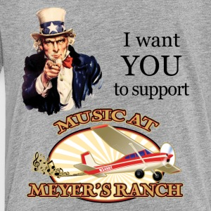 I Want You, Uncle Sam - Music at Meyer's Ranch - Toddler Premium T-Shirt