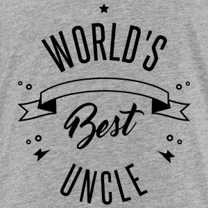 WORLD S BEST UNCLE - Toddler Premium T-Shirt