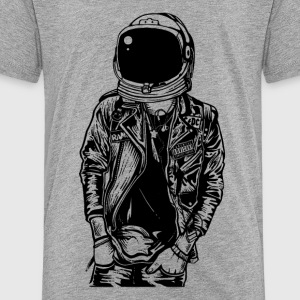 Astronaut Streetpunk. The coolest on the pitch! - Toddler Premium T-Shirt