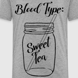 Blood Type: Sweet Tea - Toddler Premium T-Shirt