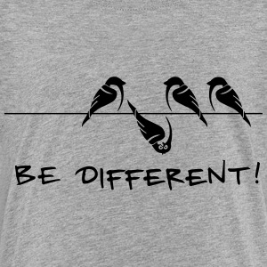 sparrow be different otherness your own way gift - Toddler Premium T-Shirt