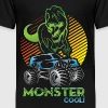 Monster Truck Dinosaur - Toddler Premium T-Shirt