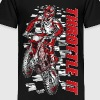 Motocross Throttle It Honda - Toddler Premium T-Shirt