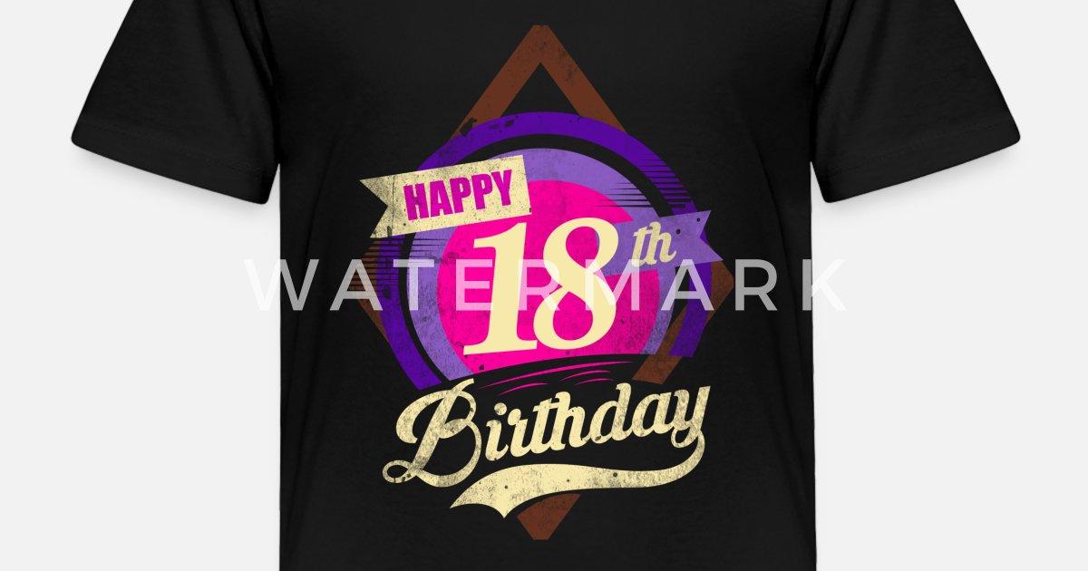Toddler Premium T Shirt18th Birthday Shirt