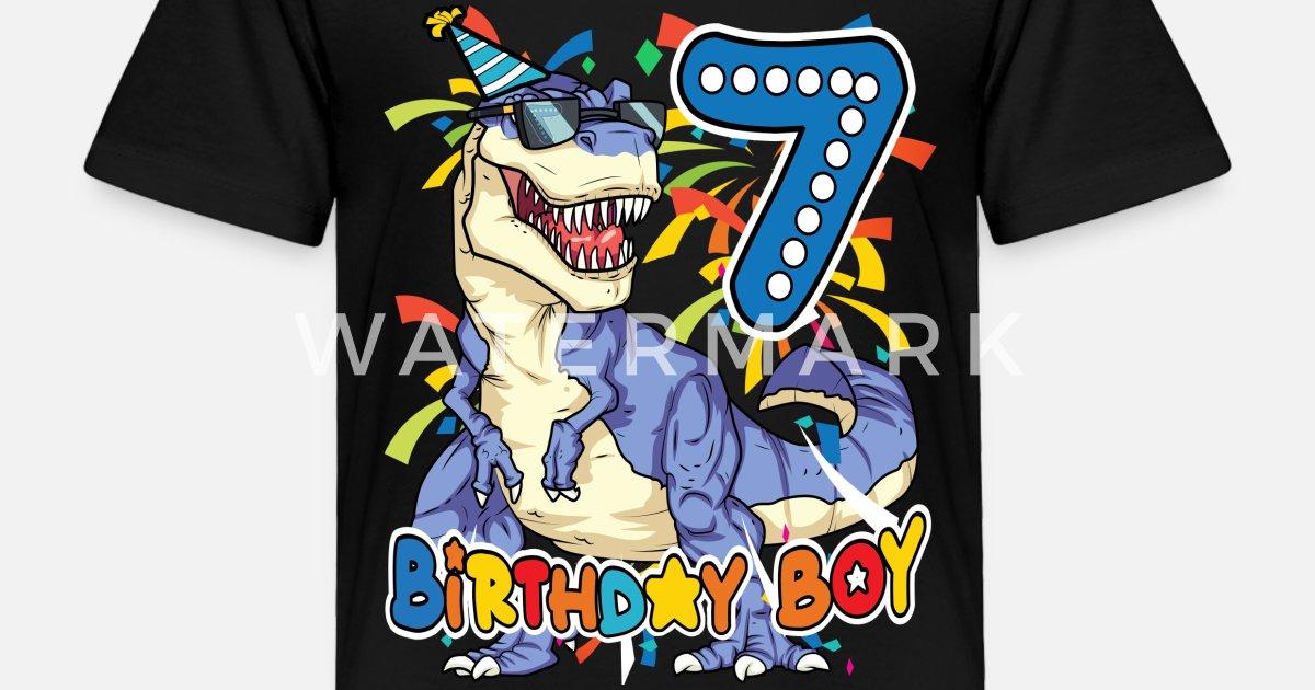 Toddler Premium T ShirtBirthday Boy Shirt 7 Year Old