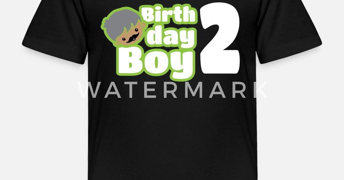 Toddler Premium T ShirtBirthday Boy Two