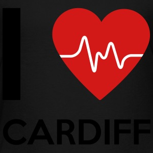 I Love Cardiff - Toddler Premium T-Shirt