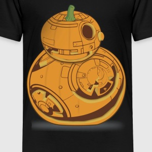 Star Wars BB 8 Pumpkin Carving Halloween Graphic - Toddler Premium T-Shirt