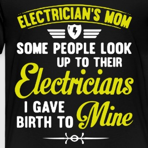 Electrician Mom Shirt - Toddler Premium T-Shirt