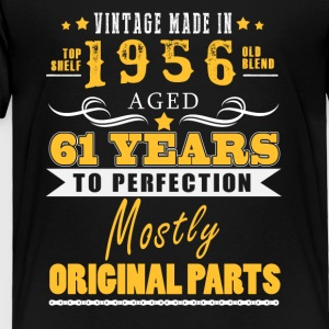 Vintage made in 1956 - 61 years to perfection (v.2017) - Toddler Premium T-Shirt
