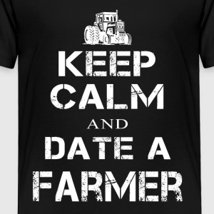 Date a Farmer T Shirts - Toddler Premium T-Shirt