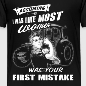 Assuming Farmer T Shirts - Toddler Premium T-Shirt