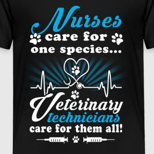 Nurse care for one species - Toddler Premium T-Shirt