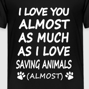 Saving Animlas - Toddler Premium T-Shirt