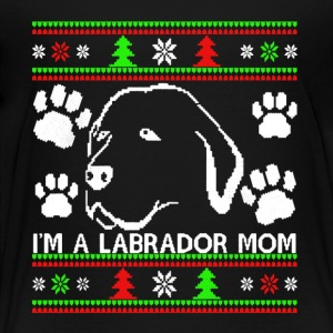 Ugly Labrador Christmas Shirt - Toddler Premium T-Shirt