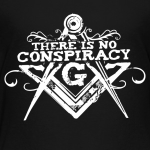 There Is No Conspiracy - Toddler Premium T-Shirt