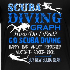 Scuba Diving Shirt - Toddler Premium T-Shirt